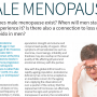 Prime Magazine Editorial (Male Menopause)