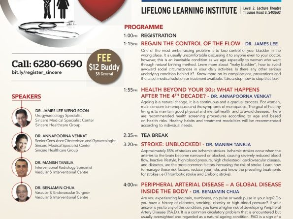 Sincere Knowledge for Prime Health Seminar
